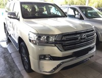 Toyota Land Cruiser Platinum Edition 2017