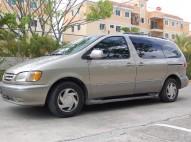 Toyota Sienna 2001 super carro en venta