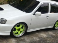 Toyota Starlet 2001 Blanco Perla Motor Turbo 15