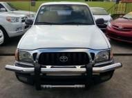 Toyota Tacoma 2001 blanca excelente condicion