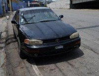 Toyota camry 1994 negro el espesial aros