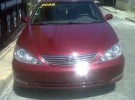Toyota camry rojo 2005