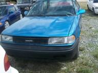 Toyota corolla 1989 azul