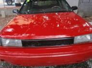 Toyota corolla 1991 rojo
