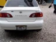 Toyota corolla 2000 color blanco