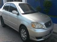 Toyota corolla 2003 le gris