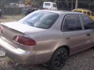 Toyota corolla 99 gas y