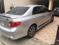 Toyota corolla tipo S 2010 color gris