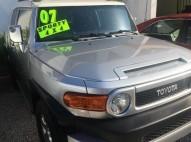 Toyota fj Cruiser 2007 4x4 pintura de fbrica sano