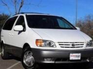 Toyota sienna 2001 blanco