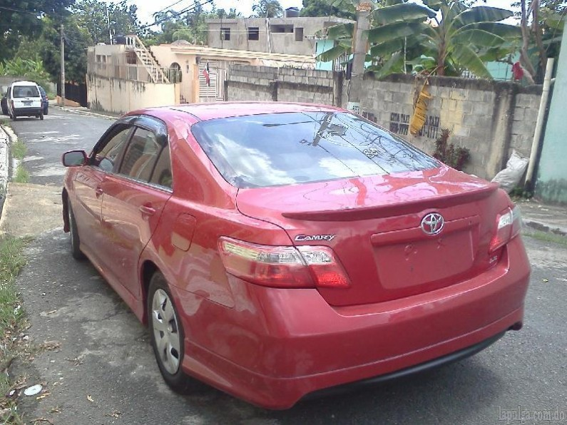toyota camry 2007 super carro en venta en santo domingo. Black Bedroom Furniture Sets. Home Design Ideas