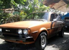 Toyota Corolla 1980 -Para fotos EMAIL