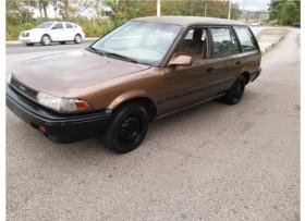Toyota Corolla 1989 aire acondicionado