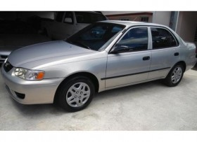 Toyota Corolla 2001 Full label Lindo