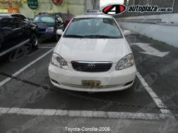 Toyota Corolla 2006 4p Le Aut