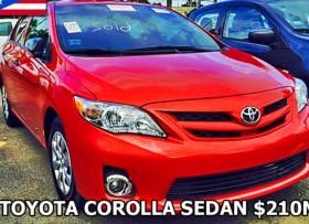 Toyota Corolla 2013 SEDAN