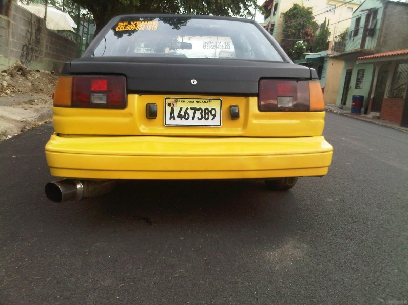toyota corolla super carro 1986 en venta en santo domingo. Black Bedroom Furniture Sets. Home Design Ideas