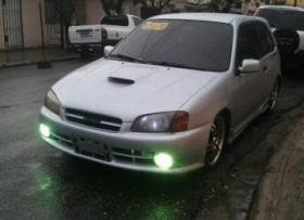 Toyota Glanza 2001 Turbo Gris