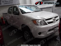 Toyota Hilux 2006 4p Doble Cabina