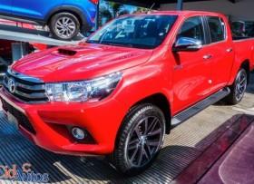 Toyota Hilux 2018 roja