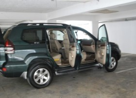Toyota Land Cruiser 2004 verde