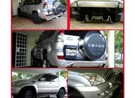 Toyota Land Cruiser Prado 2007 4 cilindros