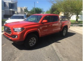 Toyota Tacoma 2016 Inferno Orange