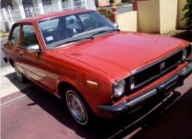 Toyota corolla 1978 de fábrica con ac 3000