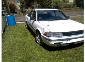 Toyota corolla 1990 aut al dia para traspaso