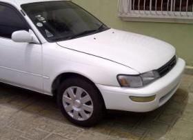 Toyota corolla 1995 blanco gas y