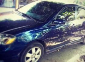 Toyota corolla 2007 azul tipo s