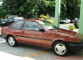 Toyota corolla sr5 1984 clasico modificado