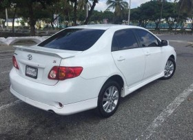 Toyota corolla tipo s 2009