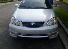 Toyota corolla tipo s año 2006