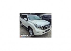 Toyota land cruiser prado vxl  2017 color blanco