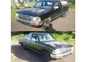 Toyota pickup 1992 22R cabina y media