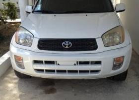 Toyota rav4 2002 blanca