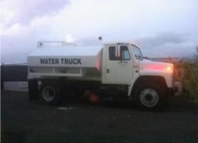 Truck International 1984 tanque de agua