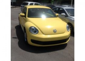 VW BEETLE 2012 super ganga