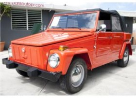 VW THING CONVERTIBLE RESTAURADO 38 k MILLAS