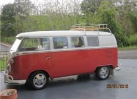 VW VAN KOMBI TIPO II 1964