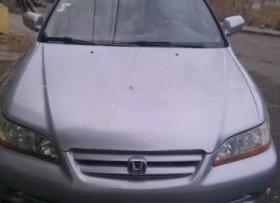 Vehiculo Honda Accord 2002