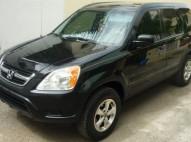 Vendo Honda CR-V 2004 Negra NEGOCIABLE - Versión Americana
