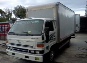 Vendo Camion Daihatsu Delta 2007 Con Furgon de 16 Pies