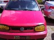 Volkswagen Golf 1986 rojo