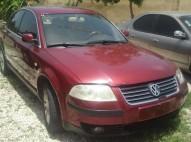 Volkswagen Passat 2002 negociable como es aros full