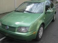 Volkswagen jetta 1999 verde