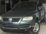 Volkswagen touareg 2004 full En leder sunroof Nitida