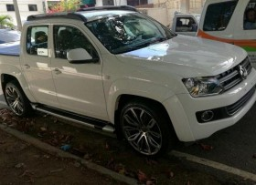 Volkswagen Amarok TDI 2015 camioneta