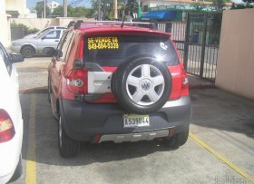 Volkswagen Cross Fox 2008